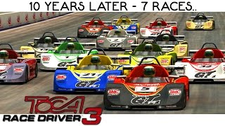 TOCA Race Driver 3 - 7 Races Gameplay PS2 HD