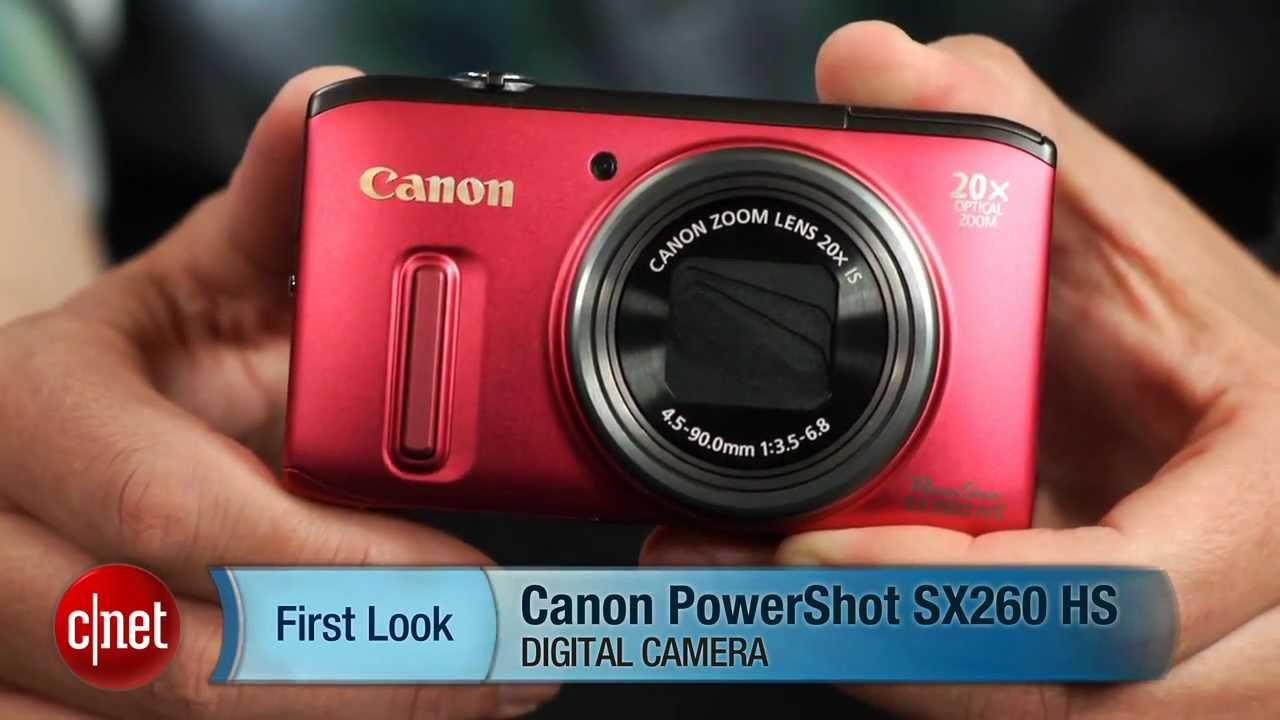 Canon Powershot Sx260 Hs Digital Camera Manual