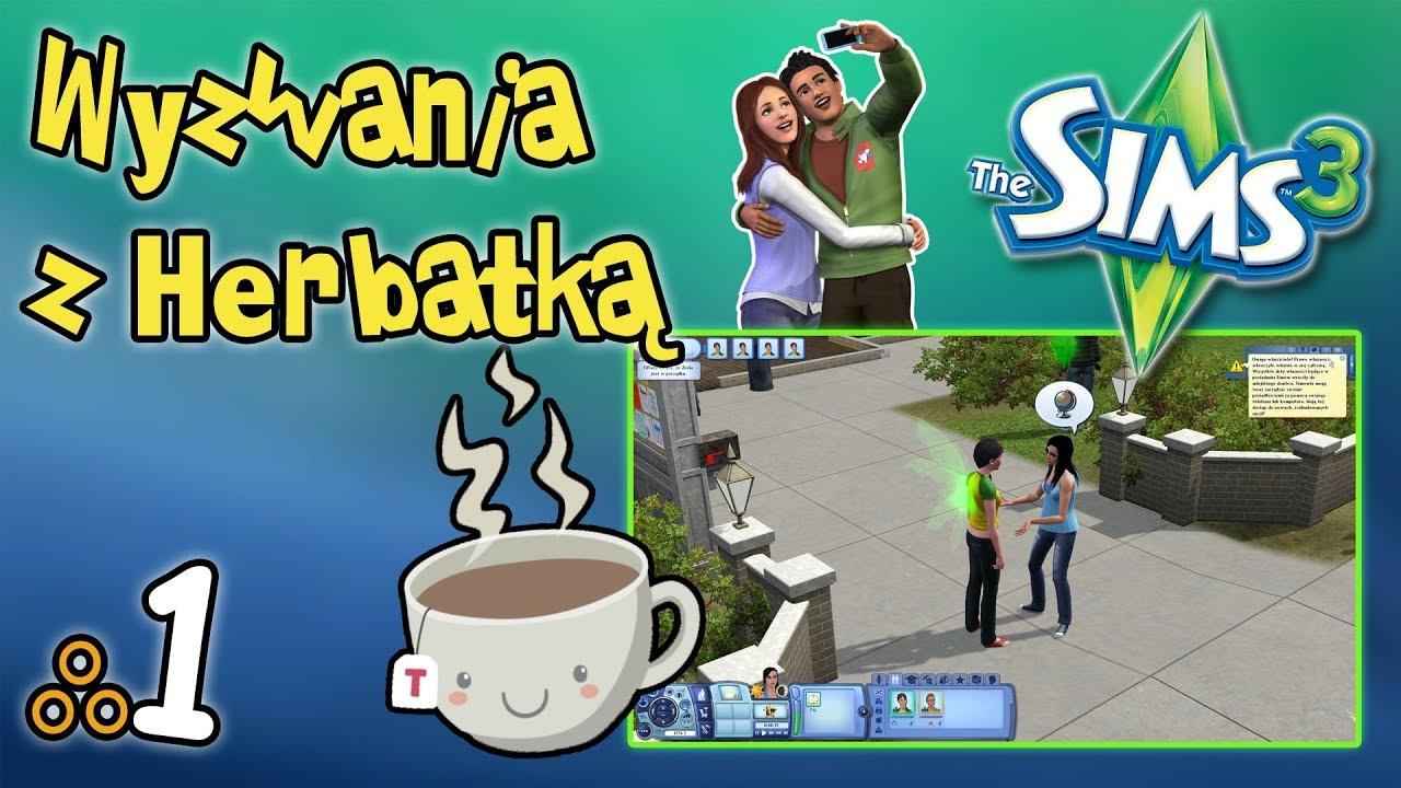 """Wyzwania z Herbatką (The Sims 3) odc. 1 – """"Przyjaźnie są ważne"""""""