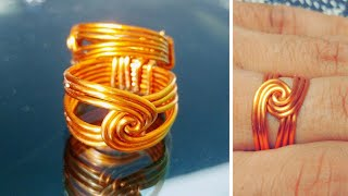 eb0e23d6ccc2d0 Download How To Make Wire Twisted Round Ring Handmade Copper Jewelry ...