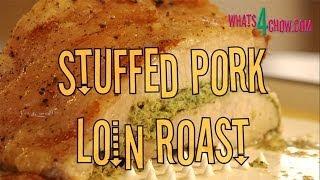 How to Make the Best Stuffed Pork Loin Roast. The easiest and best stuffed pork loin roast ever!