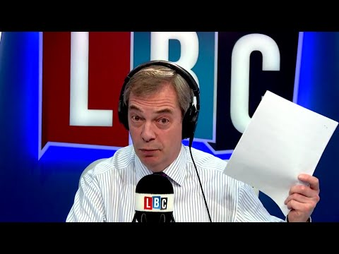 The Nigel Farage Show: Darren Osborne,further divide or unite communities? LBC - 1st February 2018