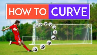How to Shoot wİth CURVE in Soccer