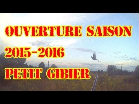 [CHASSE] Ouverture Saison 2015-2016 Petit Gibier