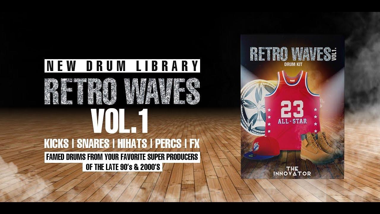 Retro Waves Vol  1 Drumkit | iamtheinnovator com