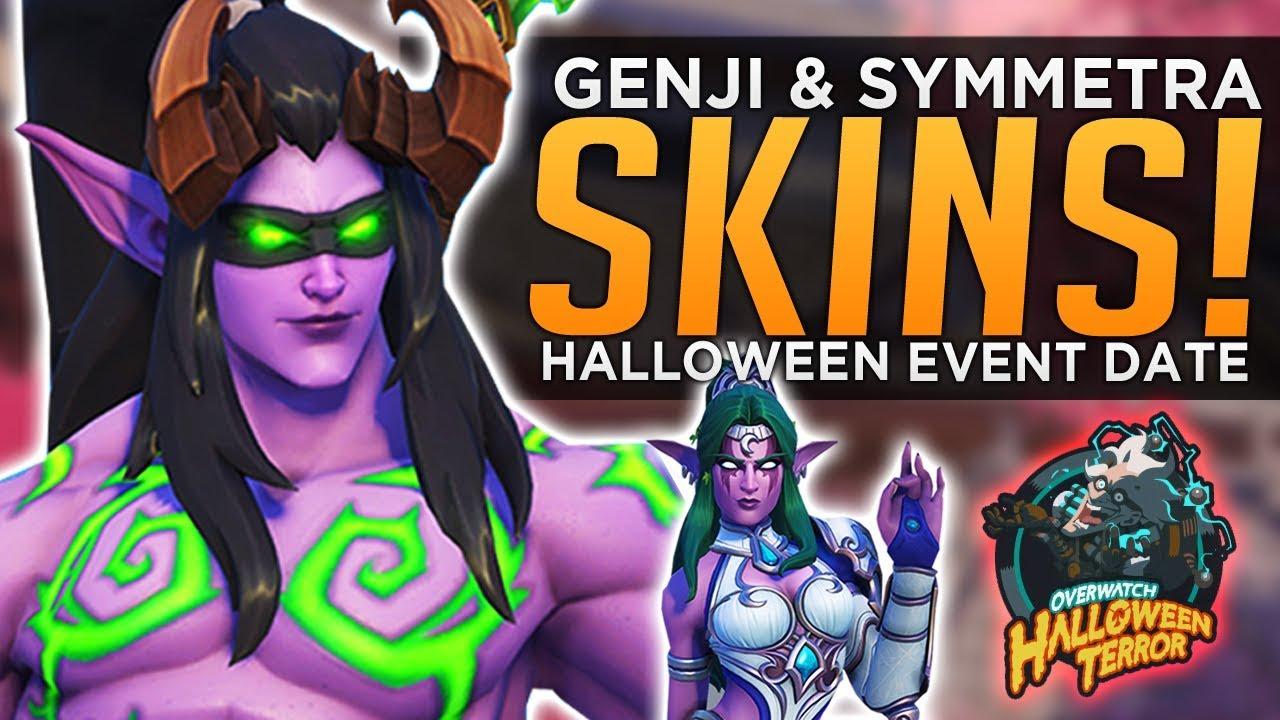 Overwatch Halloween Skins 2020 Symmetra Overwatch: NEW Genji & Symmetra Skins!   Halloween Terror Event
