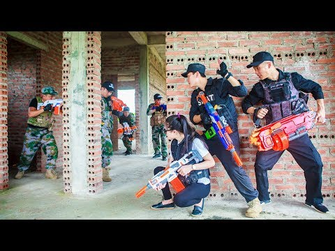 LTT Nerf War : SEAL X Warriors Nerf Guns special task Fight Attack Crime Rescue The Lover