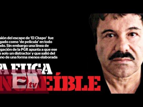 Una evasión de película, recopilación de los acontecimientos tras la fuga del Chapo Guzmán