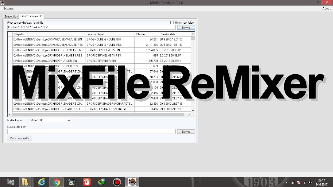 mixfile remixer
