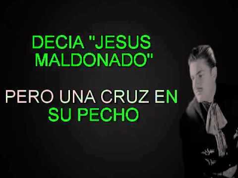 JESUS MALDONADO JOSE ALFREDO JIMENEZ KARAOKE