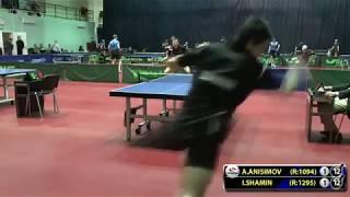 ANISIMOV   SHAMIN #Moscow #Championships subscribe youtube com lehaFes #tabletennis #настольныйтенни