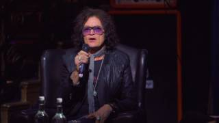 Glenn Hughes in conversation discussing his first contact with the Deep Purple members in 1973