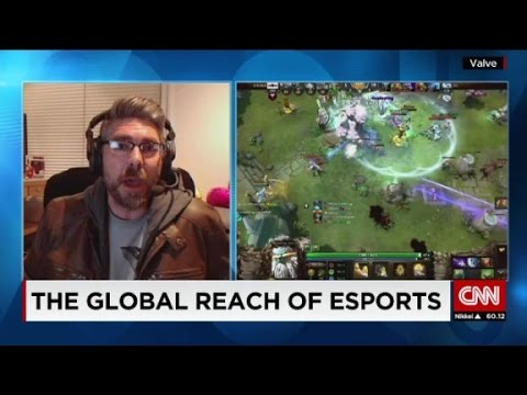 CNN makes a video talking about TI5 and pro-gaming