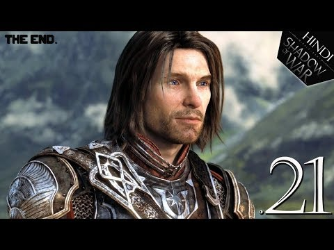 "Middle-Earth : SHADOW OF WAR (Hindi) Walkthrough #21 ""SHADOW WARS ENDING"" (PS4 Pro)"
