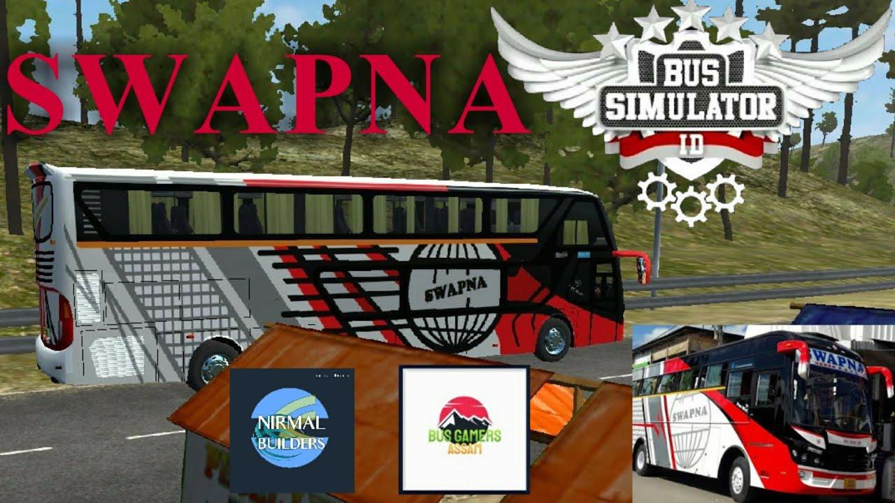 Swapna Astc Bus Simulator Indonesia Gameplay Livery For Bimasena Sdd Youtube