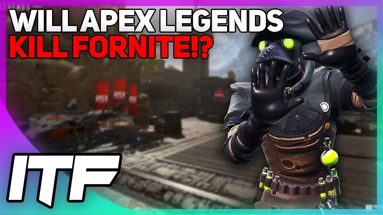 Will Apex Legends KILL Fortnite? (Fortnite Battle Royale)