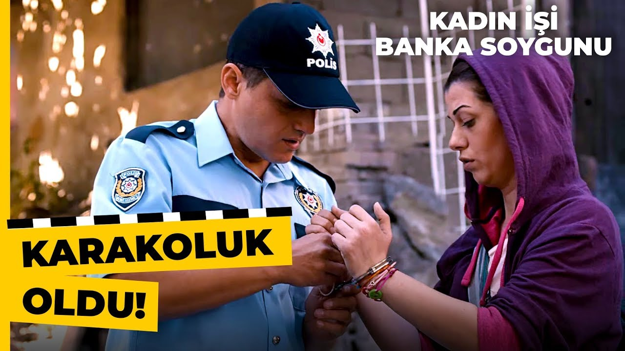 Bilge, Evden Kaçarken Polislere Yakalandı | Kadın İşi Banka Soygunu