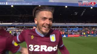 Punch, goal and interview! | Jack Grealish v Birmingham City