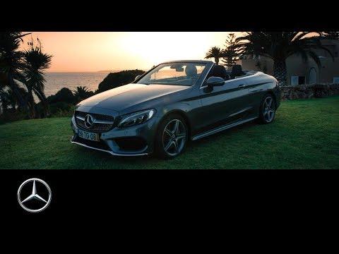 Mercedes-Benz C-Class Cabriolet: A Road Trip along the Atlantic Ocean in Portugal | #MBvideocar