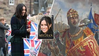 MEGHAN's extraordinary link to Scottish king Robert the Bruce, new book claims