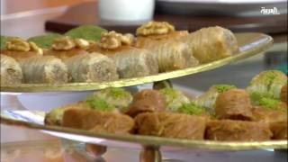 عالم الحلويات التركية الداندورما أو البوظة والكنافة والبقلاو