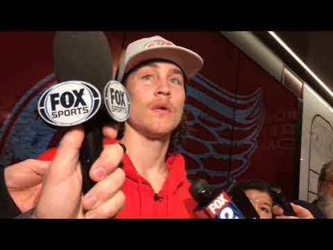 Red Wings' Tyler Bertuzzi making impact