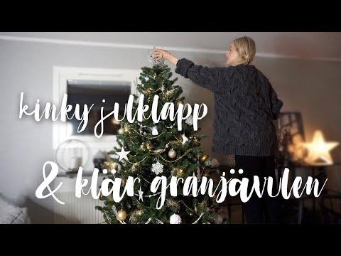 Kinky julklapp & klär julgranen | VLOGG