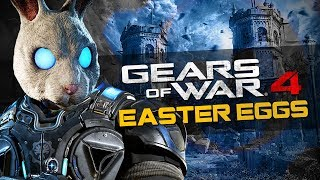 Gears of War 4 - ALL Easter Eggs and Secrets in 4K Resolution!