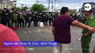 Bạo động bất ngờ bùng phát tại Bình Thuận