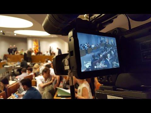 Ple ordinari  de la Diputació de Barcelona del mes d'octubre de 2016