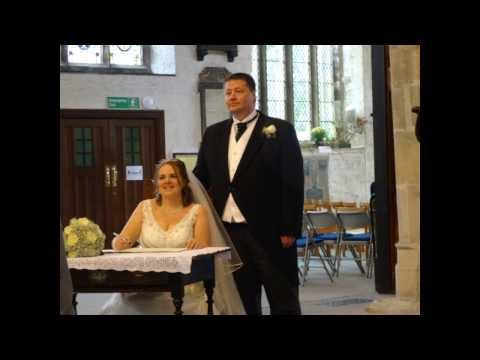 World in Union sung at Katharine & Davids Wedding by Levens Choir, 22 October 2016
