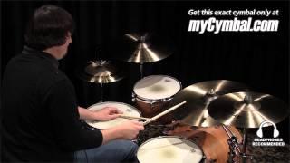 "Sabian 16"" AA Raw Bell Crash Cymbal (2160772-1012314K)"