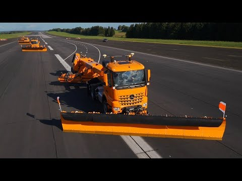 Mercedes-Benz Remote Truck Automated Airfield Ground Maintenance