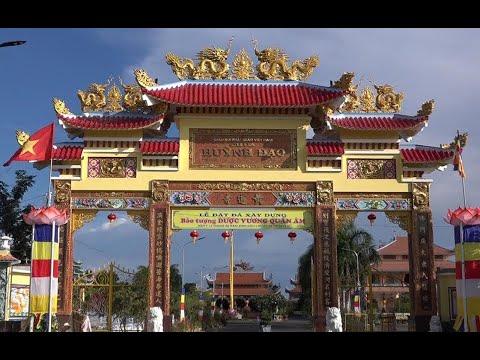 Toàn cảnh chùa Huỳnh Đạo – Châu Đốc – An Giang