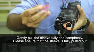 Kite - Canon Image Class MF232W printer Un boxing & Toner inserting video