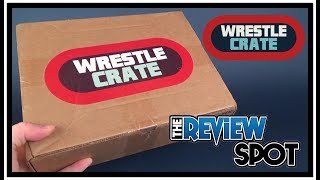 Subscription Spot | Wrestlecrate August 2017 Subscription Box UNBOXING!