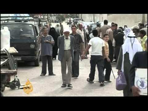 UN cuts Gaza food aid after protest