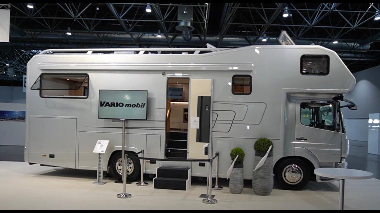 luxuswohnmobile 2021: variomobil vario alkoven 900