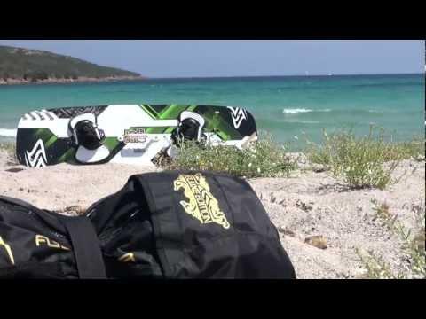 Flysurfer Kiteboarding   Corsica summer 2012
