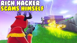Riche Hacker Escroqueries lui-même! 🤑🤑 (Scammer Gets Scammed) Fortnite Save The World