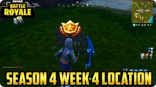 Fortnite Season 4 Week 4 Challenges: Search Between A Bench, Ice Cream Truck and a Helicopter