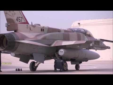 F 16I Sufa ВВС Израиля на учениях Blue Flag 2015