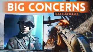 BATTLEFIELD 5: 5 Things I Don't Like & I Am Concerned About (BF5 Multiplayer Gameplay) thumbnail