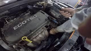 Замена масла в двигателе Chevrolet Cruze 1.8
