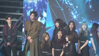 170222 GFRIEND EXO NCT Ending Stage on Gaon Award
