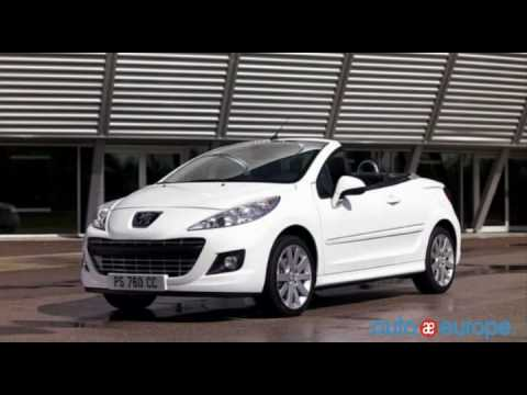 Lease a Peugeot 207 Convertible with Auto Europe - YouTube
