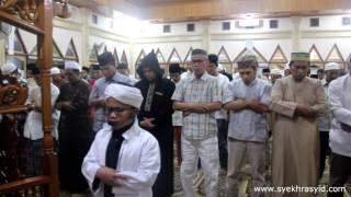 Syekh Rasyid Imam Shalat Tarawih 2017 TERBARU ( Anak kecil Imam Sholat  )