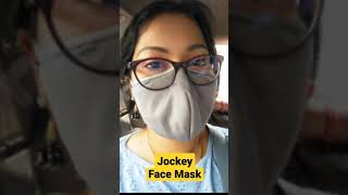 ज क 7 ल यर म स क Jockey Unisex s Cotton Face Mask Pack of 2 Best Face Mask in India shorts
