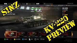 world of tanks xbox 360 edition   kv 220 preview tier 5 russian premium heavy tank