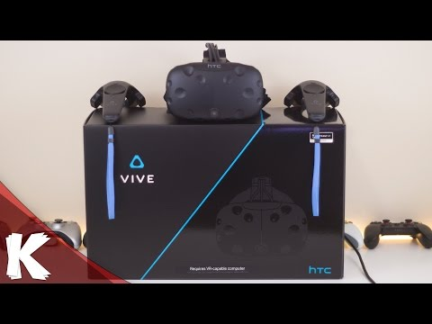 HTC VIVE | Unboxing | Quick Setup | Close Look